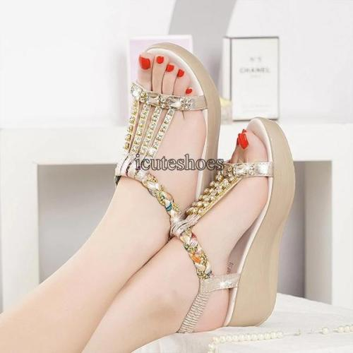 Sandals Women's 2020 Summer New Open Toe Flat Bohemian Shoes Women's Shoes
