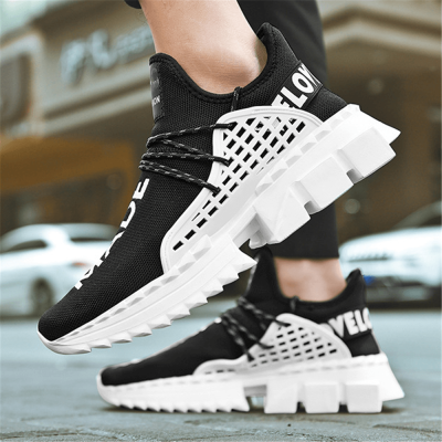 Men's Fashion Versatile Breathable Thick-Soled Sneakers