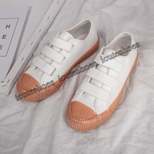 Canvas Shoes Women's Shoes 2020 New Retro Students' Platform Shoes Women