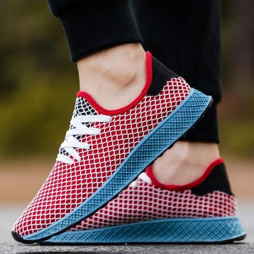 Casual Breathable And   Comfortable Lacing Sneakers