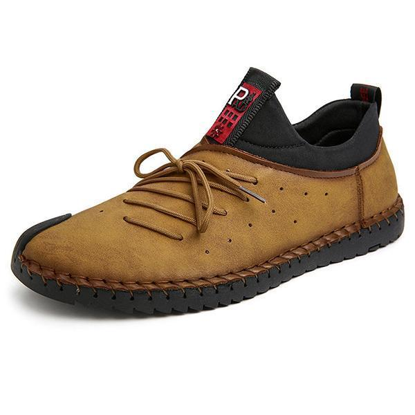 Large Size Men Soft Sole Slip-on Casual Flat Shoes