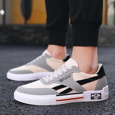 spring casual men flats fashion color matching