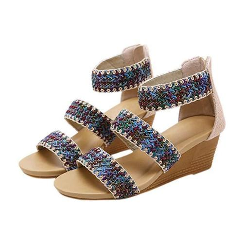 Women Daily Open toe Wedge Sandals