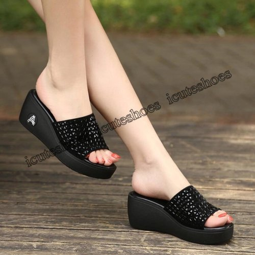 high heels women sandals flat casual shoes summer sandals women summer shoes genuine platform