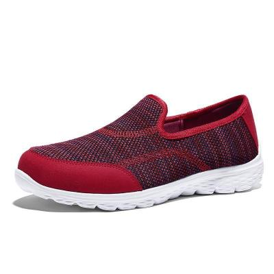 Women Breathable Mesh Soft Sole Flat Casual Shoes