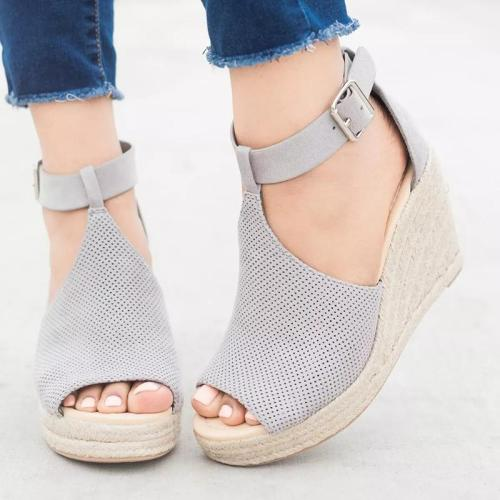 Summer Artificial Nubuck Sandals