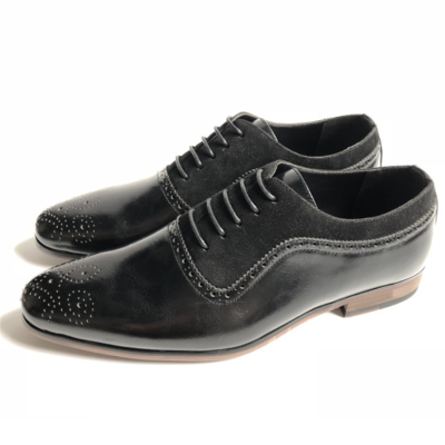 British Style Carved Casual Leather Shoes