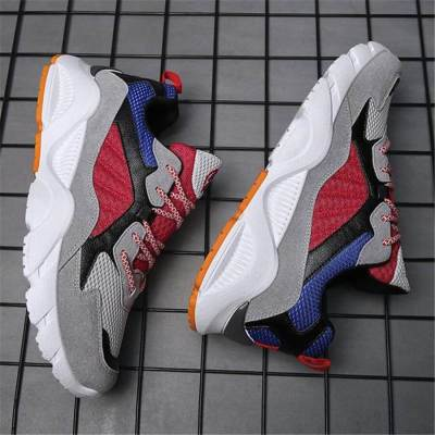 Men's Fashion Casual Wild Color   Matching Sneakers