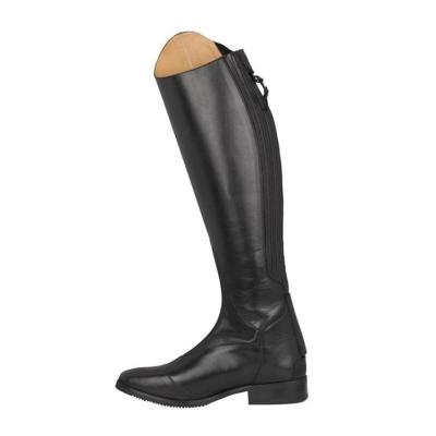Medieval Gothic Leather Knee High Boots Women Female Vintage Mountain Horse High Rider Boots
