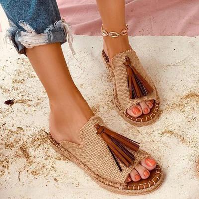 Summer Open Toe Slip-On Women Slippers