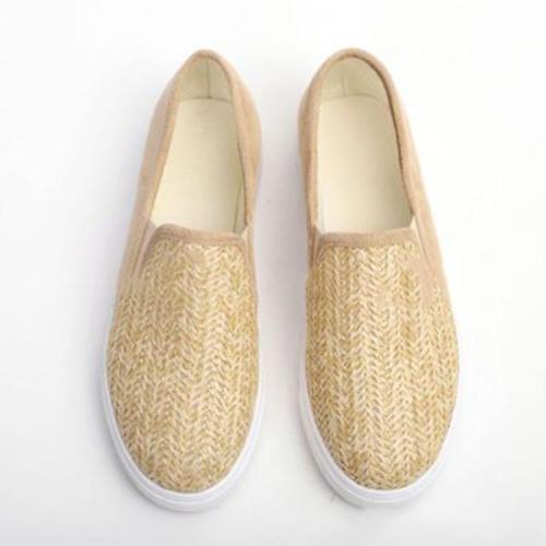 Women Casual  Flat Heel Canvas Sneakers
