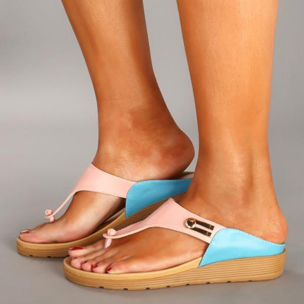 Casual Low Heel Slippers