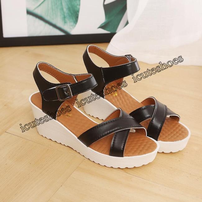 Shoes Women Sandals Summer Platform Sandals Girl Shoes Lady Wedges Sandals Summer Shoes