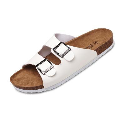 Beach Cork Slippers Sandals Casual Double Buckle Clogs Sandalias