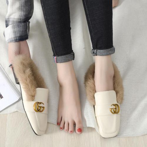 Flat Bottomed Slippers Girls' Cozy Wear Muller Shoes for Women