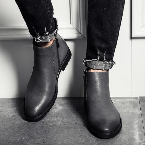 Men's Retro British Garment Casual Martin Boots