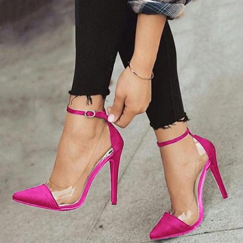 Ladies Spring/Summer Panel Shoes Sexy Party Cocktail Pumps