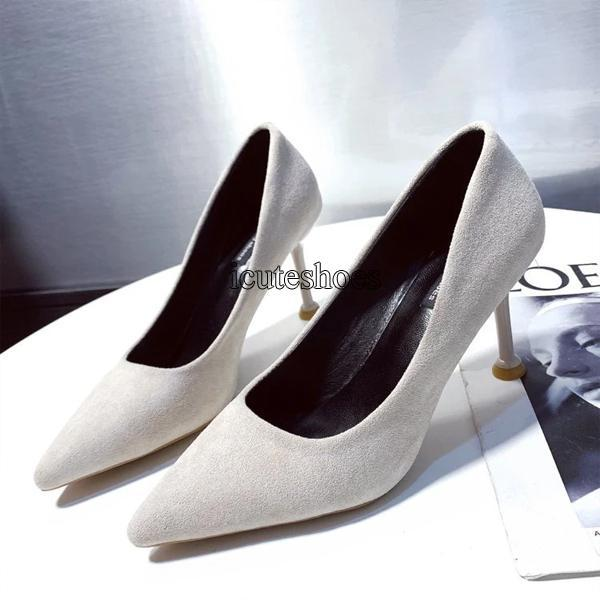High-heeled Shoes Women 2020 Spring New Pointed Professional Sexy Heel Fashion Women's Shoes