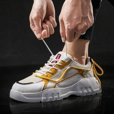 Men's Breathable Mesh Sports And Leisure Running Sneakers