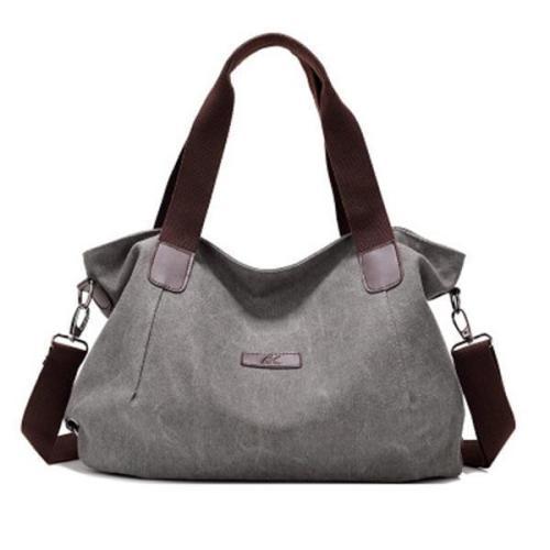 Canvas Large Capacity Handbag Casual Crossbody Bag