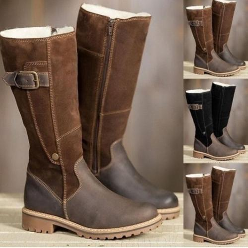 Women Fashion Leather Tall Boots