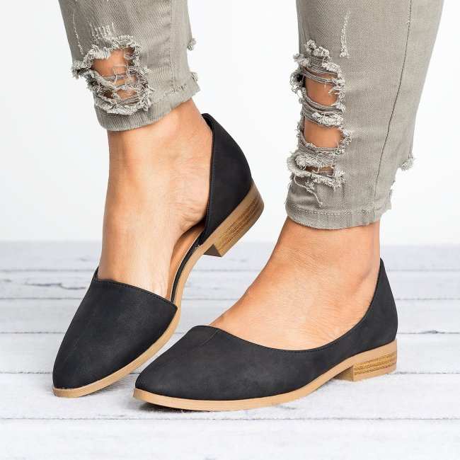 D'Orsay Distressed Flats