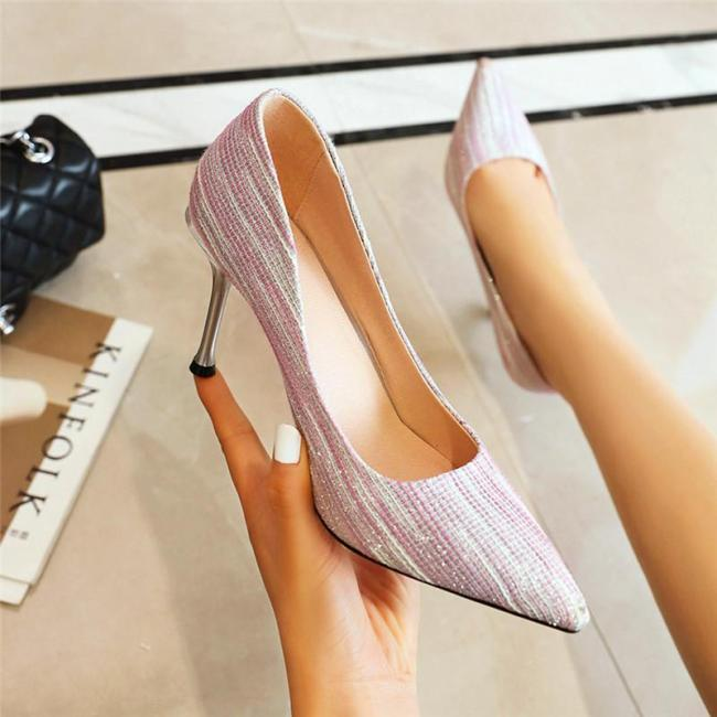 Spring 2020 New High-heeled Shoes  Women's Shoes