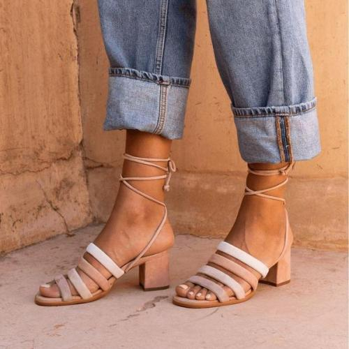 Women Open Toe Elegant Sandals