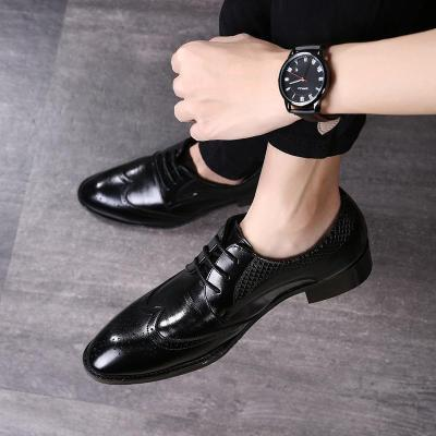 Fashion Pointed Head Strappy Split Joint Shoes