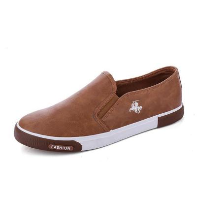 Men Breathable PU Leather Casual Shoes