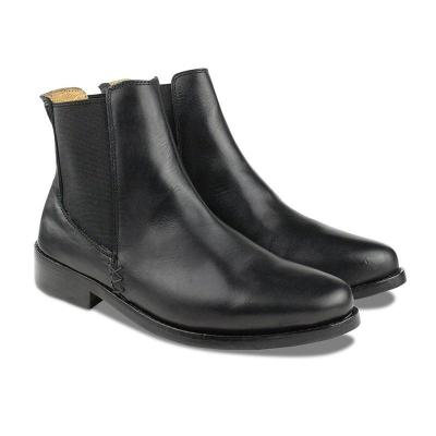 Women's fashion solid color Chelsea boots