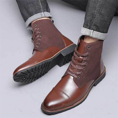 Men's casual and comfortable Martin boots