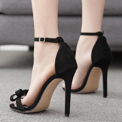 Adjustable Buckle Stiletto Heel Party & Evening Heels