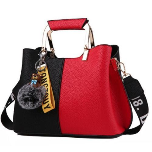 Multifunctional Large Capacity Crossbody Bag Simple Handbag