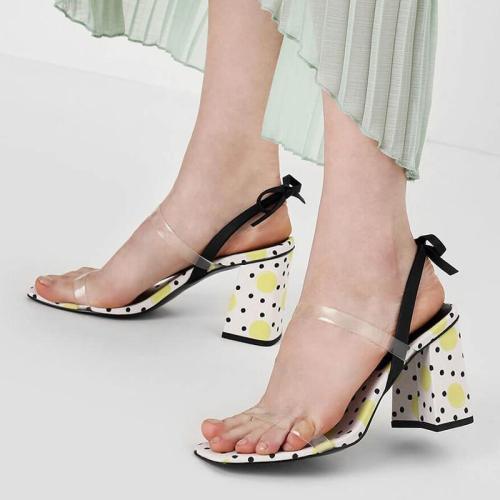 Summer Chunky Heel Elegant Sandals