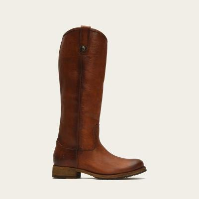 F/W New Simple Solid Low-heel Boots