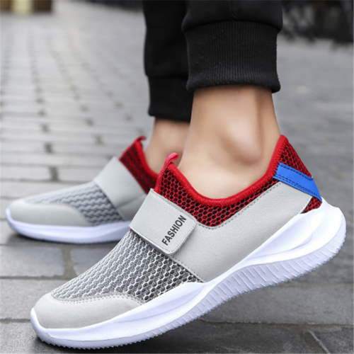 Men's Breathable Hollow Mesh Sneakers