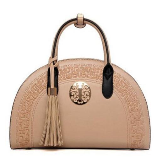 Vintage Shell Handbag PU Leather Shoulder Bag Crossbody Bag