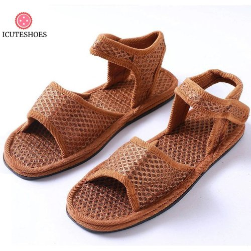 flat shoes women Vintage Slip On Beach sandals women