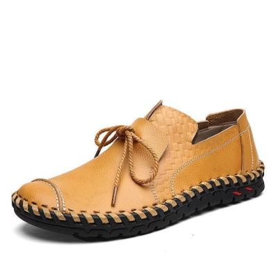 Genuine Leather Men Soft Casual Shoes