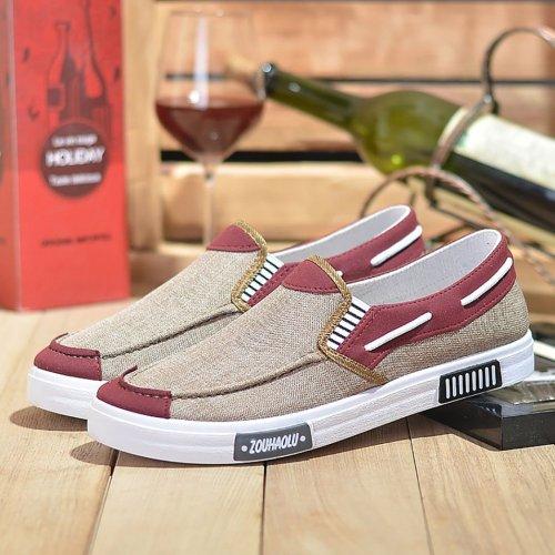 Breathable Flat Bottom Canvas Shoes