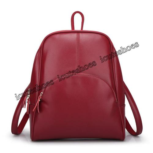 PU New Backpack Women's Bag Trendy Casual Backpack Women's Bag