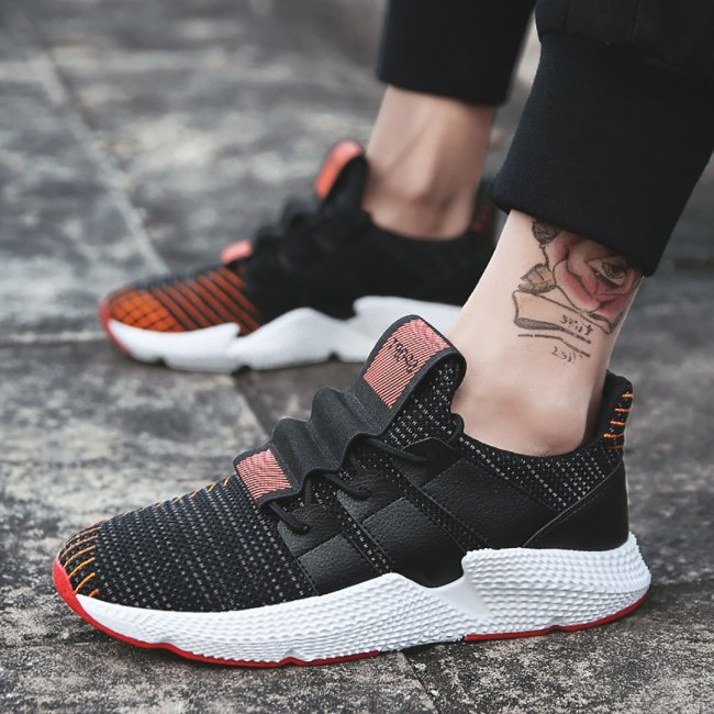 Fashion Men Knitted Casual Sports Shoes