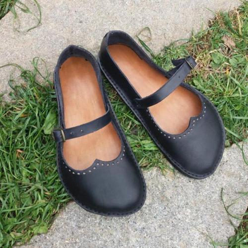Women Vintage Casual Soft Loafers