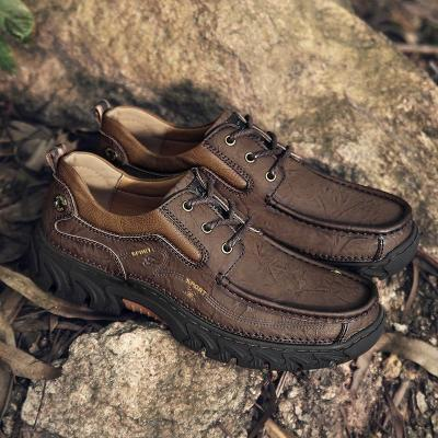 Mens Casual Lace-up Cargo Shoes Large Size Flats