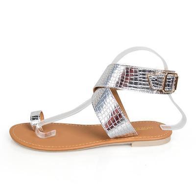Rome Style Beach Flip Flops Flat Sandals