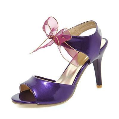 Stiletto Heel Bowknot Date Heels