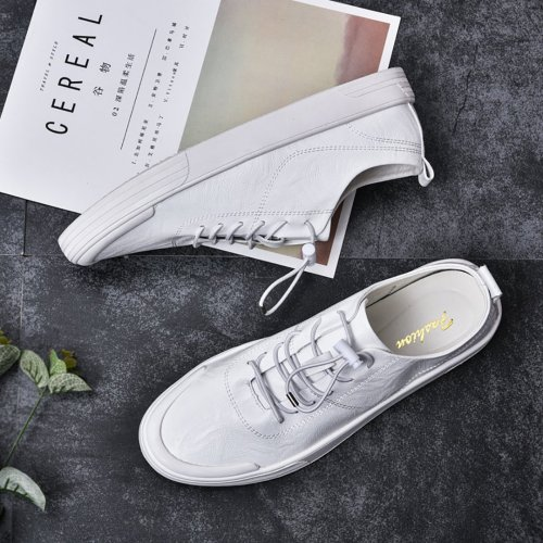 Hundred men's fashion casual flat-bottomed shoes