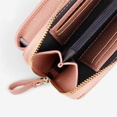 Faux leather Clutch Bag 4 Card Slot Bag Crossbody Bag