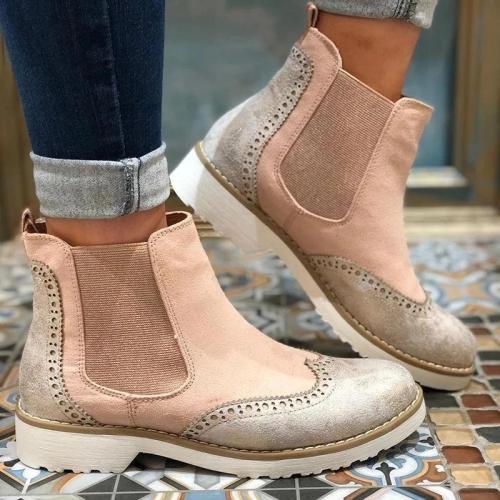 Chelsea Boot Split Joint Slip-On Ankle Boots